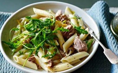 Super liver detoxifying pasta