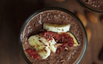 Chocolate Chia Superfood Pudding