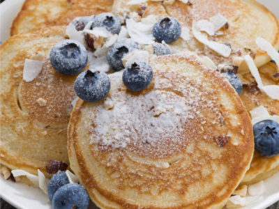 Banana Coconut Pancake Recipe