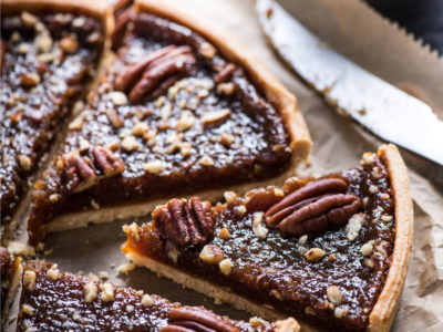 Healthy pecan pie recipe