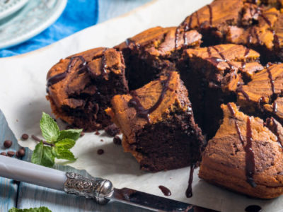 Pumpkin Chocolate Brownies