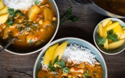 Chicken and Chickpea Mild Curry