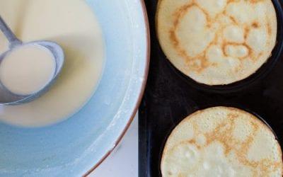 Rice Flour (Gluten Free) Pancakes & Healthy toppings
