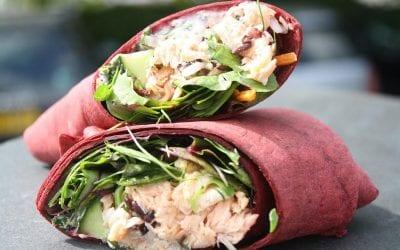 Coconut Chicken Wrap