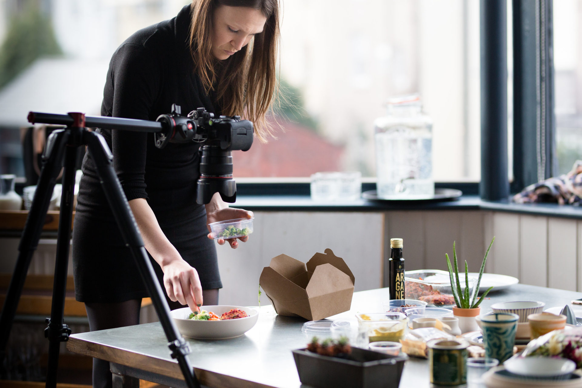 Rosie Letts at a brand consultancy photoshoot